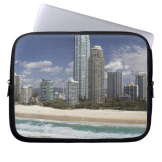 Australia, Queensland, Gold Coast, Surfers Laptop Computer Sleeves