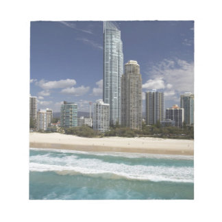 Australia, Queensland, Gold Coast, Surfers Notepad