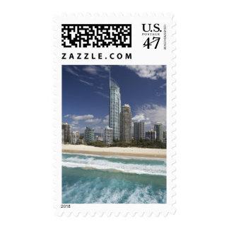 Australia, Queensland, Gold Coast, Surfers Postage