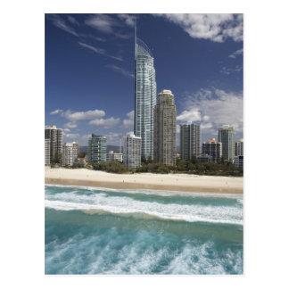 Australia, Queensland, Gold Coast, Surfers Postcard