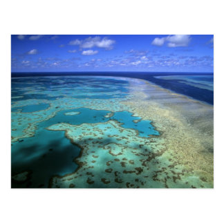 Australia - Queensland - Great Barrier Reef. 4 Postcard