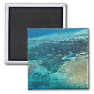 Australia, Queensland, North Coast, Cairns 2 Inch Square Magnet