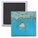 Australia, Queensland, The Whitsunday Islands, 2 Inch Square Magnet