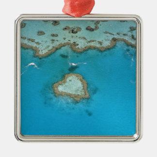 Australia, Queensland, The Whitsunday Islands, Metal Ornament