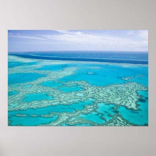 Australia, Queensland, Whitsunday Coast, Great 3 Poster