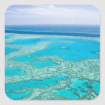 Australia, Queensland, Whitsunday Coast, Great 3 Square Sticker