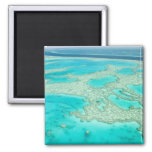 Australia, Queensland, Whitsunday Coast, Great 7 2 Inch Square Magnet