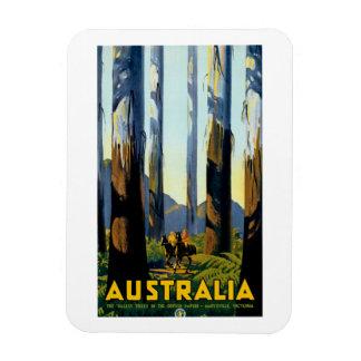 Australia Rectangular Photo Magnet
