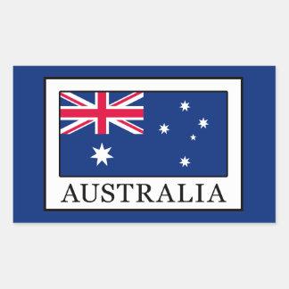 Australia Rectangular Sticker
