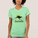 Australia Red earth Design Tee Shirt