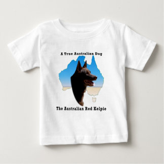 Australia Red Kelpie with map Shirt