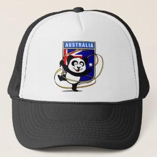 Australia Rhythmic Gymnastics Panda Trucker Hat