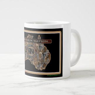 Australia Rig Up Camo Giant Coffee Mug
