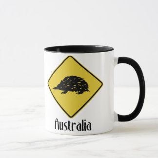 Australia Road Sign - Echidna Mug