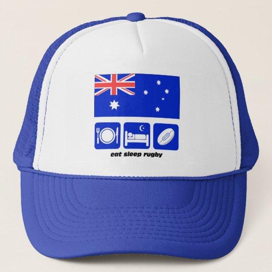 Australia rugby trucker hat