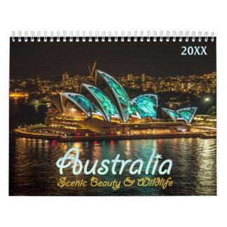 Australia Scenic Calendar 2018