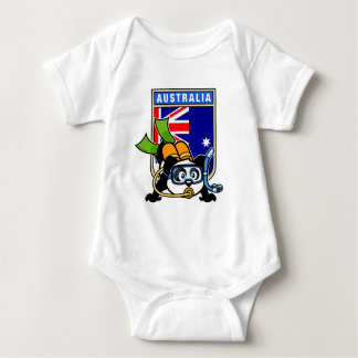 Australia Scuba Diving Panda T-shirts