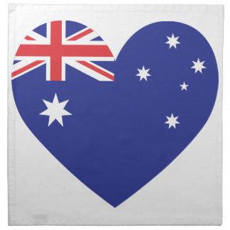 Australia Servilletas Imprimidas