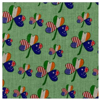 Australia Shamrock Fabric