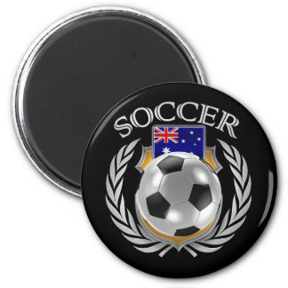 Australia Soccer 2016 Fan Gear 2 Inch Round Magnet