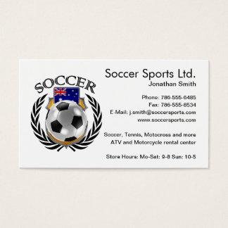 Australia Soccer 2016 Fan Gear Business Card