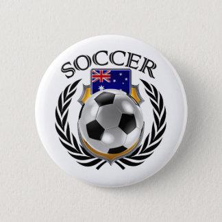 Australia Soccer 2016 Fan Gear Button