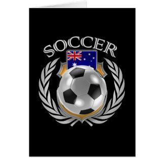 Australia Soccer 2016 Fan Gear Card