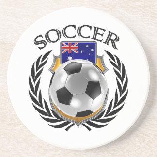 Australia Soccer 2016 Fan Gear Drink Coaster