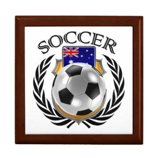 Australia Soccer 2016 Fan Gear Jewelry Box