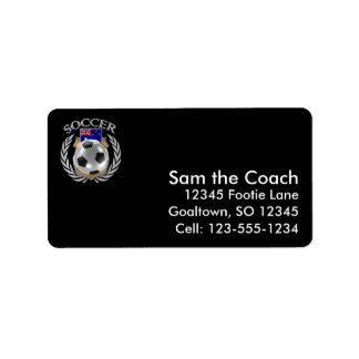 Australia Soccer 2016 Fan Gear Label