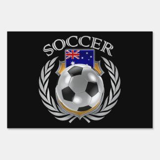 Australia Soccer 2016 Fan Gear Lawn Sign