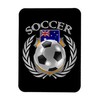 Australia Soccer 2016 Fan Gear Rectangular Photo Magnet