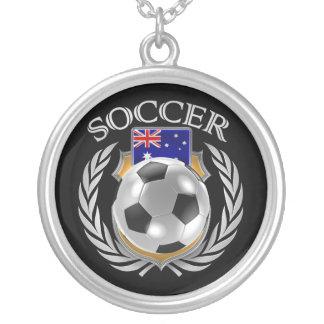 Australia Soccer 2016 Fan Gear Silver Plated Necklace