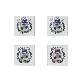 Australia Soccer 2016 Fan Gear Stone Magnet