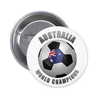 AUSTRALIA SOCCER CHAMPIONS PINBACK BUTTON