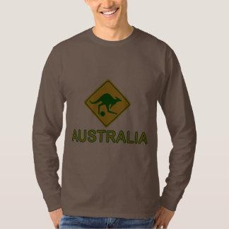 Australia Soccer Kangaroo Shirt