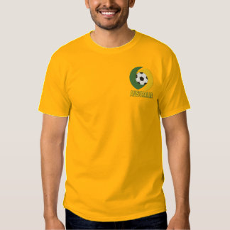 Australia Soccer roos embroidered t-shirt