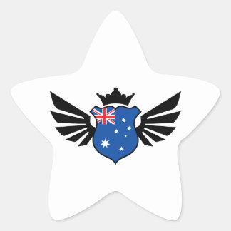 Australia soccer star sticker