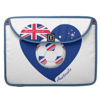 """AUSTRALIA"" Soccer Team. Fútbol de Australia. Fundas Macbook Pro"