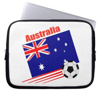 Australia Soccer Team Laptop Sleeve
