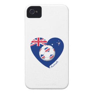 """""""AUSTRALIA"""" Soccer Team. Soccer of Australia iPhone 4 Case-Mate Case"""