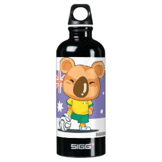 Australia Soccer Water Bottle