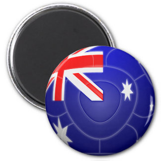 Australia - Socceroos Football 2 Inch Round Magnet