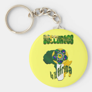 Australia Socceroos Go to Africa Tees and Gifts Basic Round Button Keychain