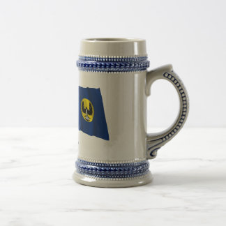 Australia & South Australia Waving Flags Beer Stein