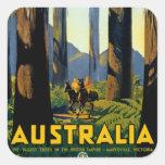 Australia Square Stickers