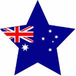 Australia Star Acrylic Cut Outs