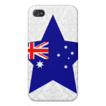 Australia Star Cover For iPhone 4
