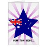 Australia Star Greeting Cards