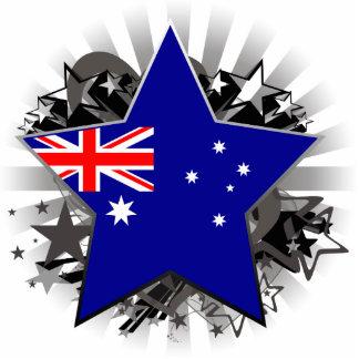 Australia Star Acrylic Cut Out